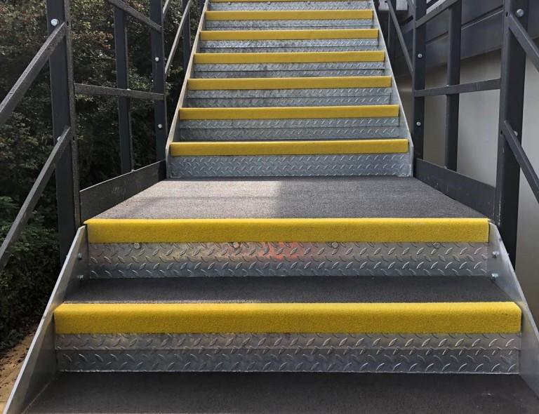 Anti Slip GRP Stair Landing 3